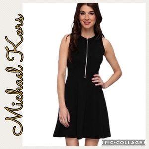 Michael Kors • Half Zip A-Line Dress • 10